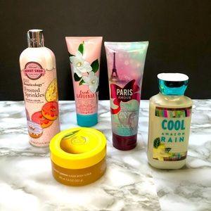 HUGE LOT - Bath & Body Works, Body Shop & MORE